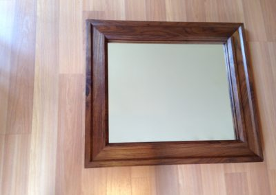 Mirror - Walnut Square