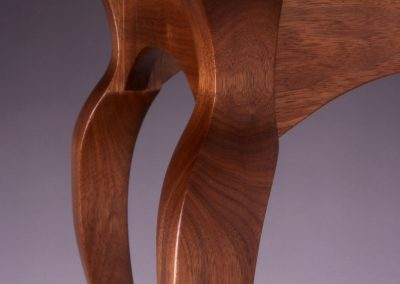 Walnut Cabriole Leg Close Up