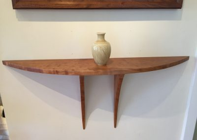 Cherry Stingray Wall Shelf